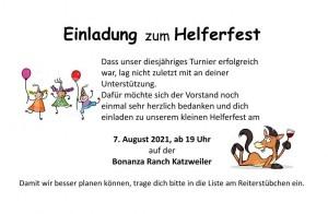 Helferfest 2021