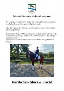 RFV erfolgreich auf Landesmeisterschaften